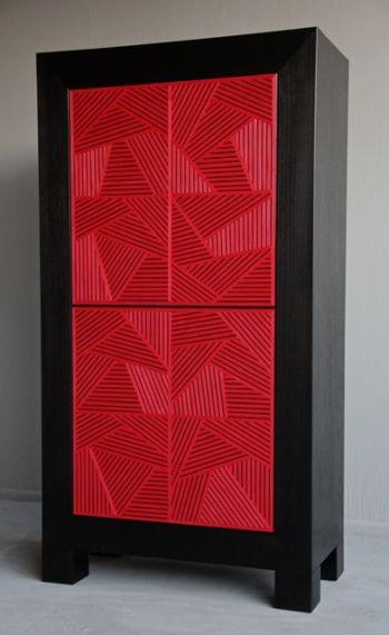 Crosshatch Cabinet